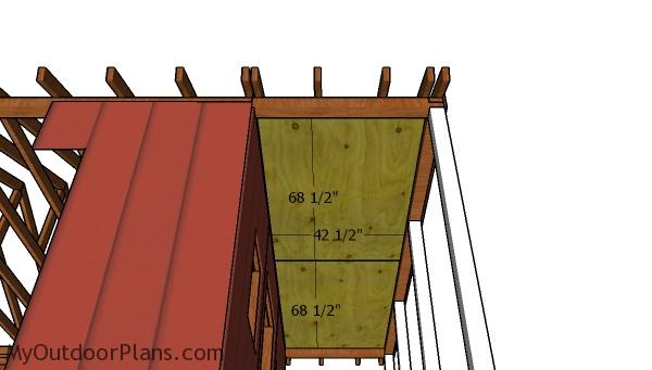 Ceiling sheets