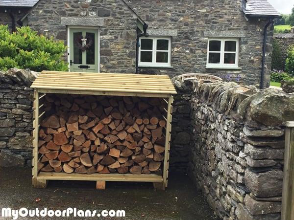 DIY Firewood Store