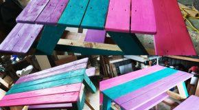 DIY Picnic Table for Kids