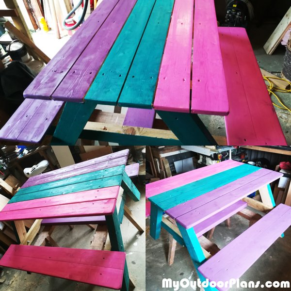 DIY-Picnic-table-for-kids