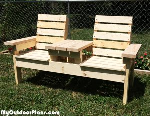 Double-Chair-Bench