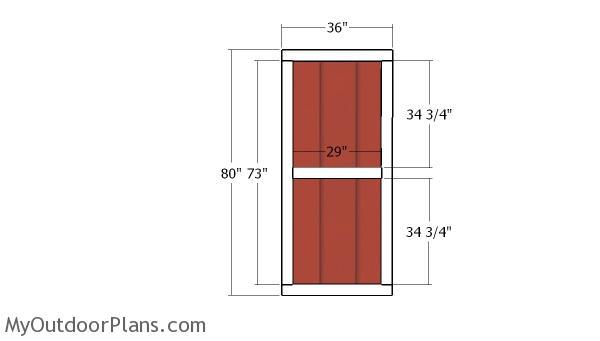 Double doors plans