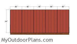 Other side wall siding panels