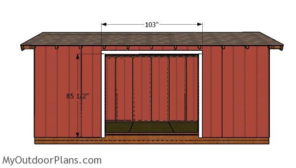 Side wall jambs