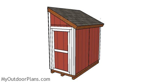 4x8 Bike Shed Plans Myoutdoorplans Free Woodworking Plans And Projects Diy Shed Wooden