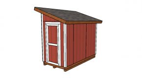 5×10 Lean to Shed Plans