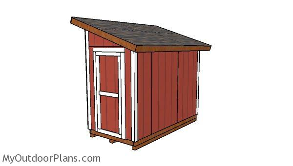 5x10 Lean To Shed Plans Myoutdoorplans Free