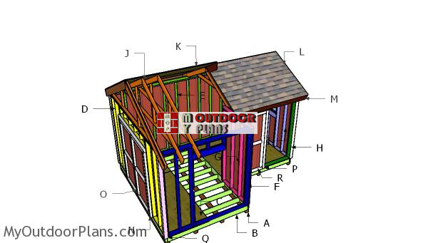 Building-a-12x8-8x8-shed-gable-roof