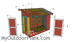 Building a 5x12 shed