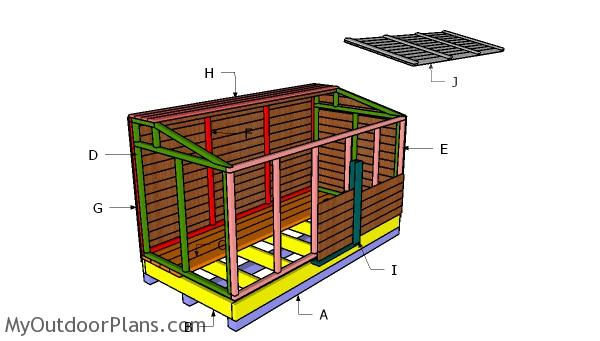 Building a coal bunker