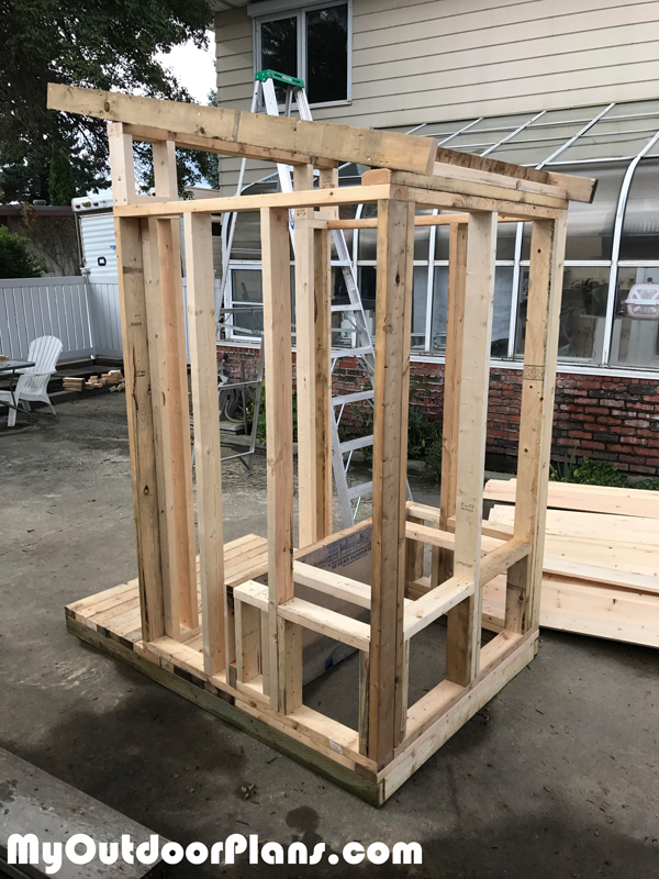 DIY Outhouse | MyOutdoorPlans | Free Woodworking Plans and ...