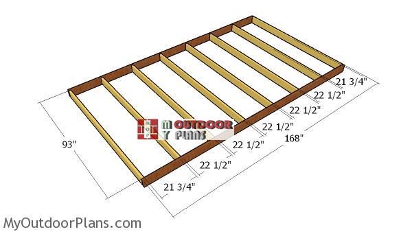 Building-the-floor-frame-8x14
