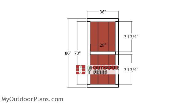 Building-the-side-double-doors