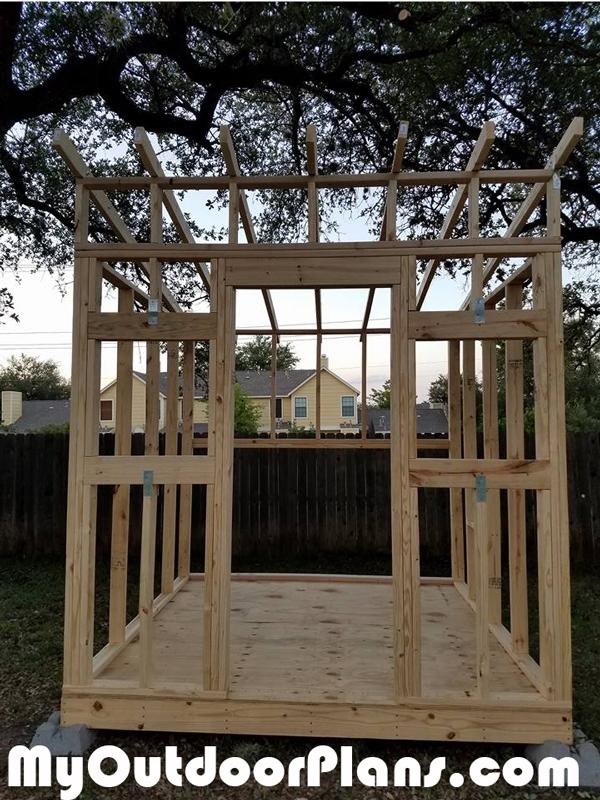 Chicken-coop-frame---front