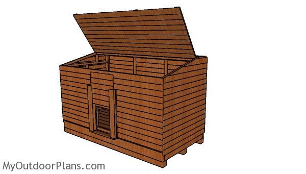 4x8 Coal Bunker Plans