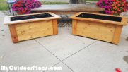 DIY Garden Planter Boxes