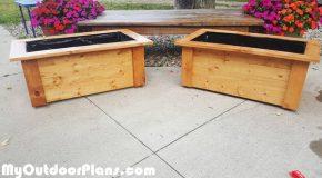 DIY Garden Planter Boxes