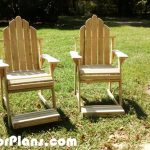 """28 """" High Adirondack Chairs"""