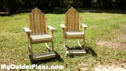 "28 "" High Adirondack Chairs"