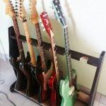 DIY Basic Wood Guitar Stand