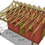10×16 Shed with Porch Roof Plans