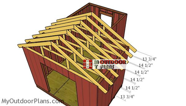 Fitting-the-trusses-to-the-large-shed