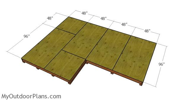 12x8 8x8 Gable Shed Plans Myoutdoorplans Free