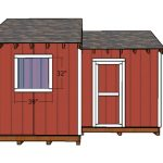 12×8 8×8 Shed Doors Plans