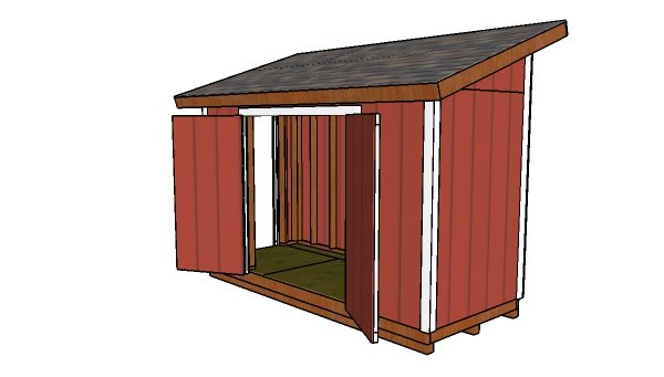 How to build a 5x12 lean to shed
