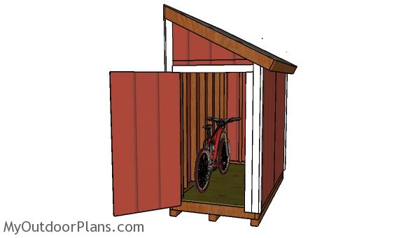 How to build a bike shed