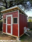 DIY Large Lean to Chicken Coop