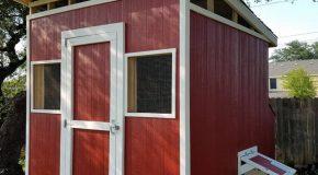 DIY Large Lean to Chicken Coop