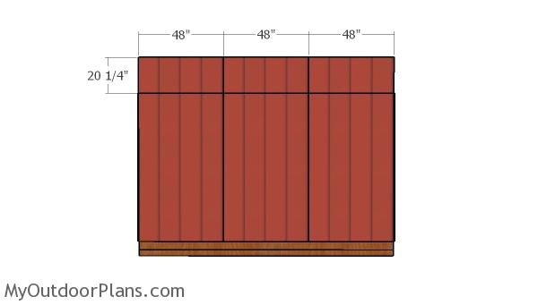 5x12 Pent Shed Roof Plans Myoutdoorplans Free