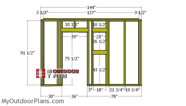 front-wall-frame-shed