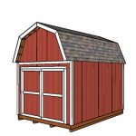 10×14 Gambrel Shed – Free DIY Plans