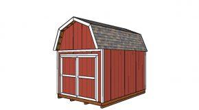 10×14 Gambrel Shed – Free DIY Plans
