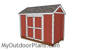 12x6 Shed Plans