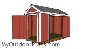 12x6 Shed Plans - Free DIY Plans