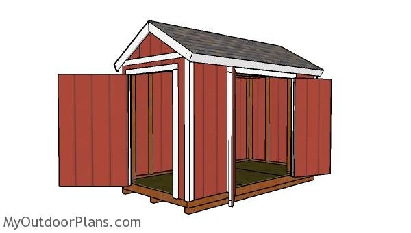 12x6 Shed - Free DIY Plans
