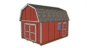 14×20 Gambrel Shed – Free DIY Plans