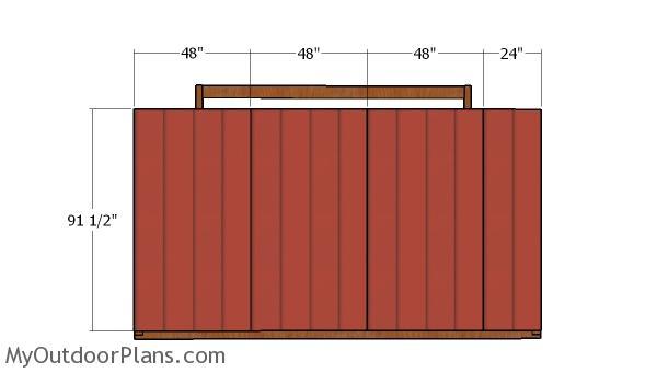 10x14 Run In Shelter Plans Myoutdoorplans Free