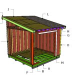 10×10 Lean to Roof Plans