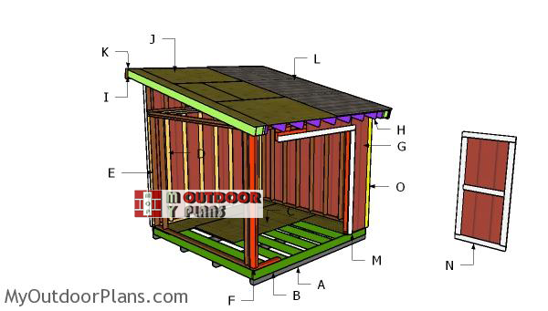Building-a-10x10-lean-to-shed
