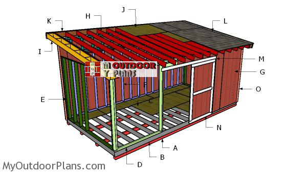 Building-a-10x20-lean-to-shed