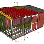 10×20 Lean To Shed Roof Plans