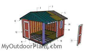 Building a 12x14 shed