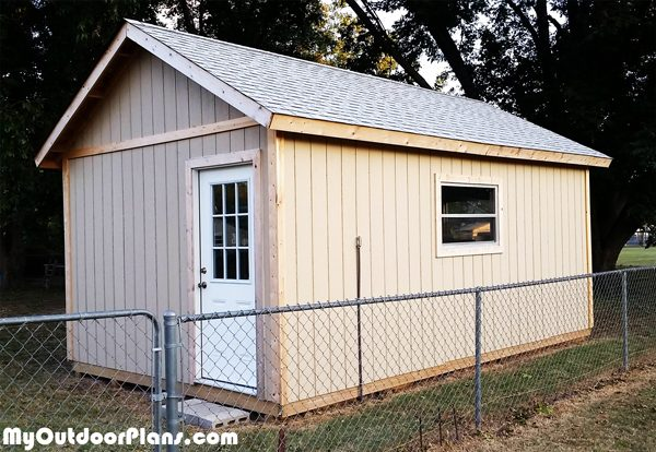 Do It Yourself Home Design: DIY 12x20 Shed Plans