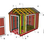 12×6 Gable Shed Roof – Free DIY Plans