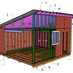 16×16 Lean To Shed Roof Plans