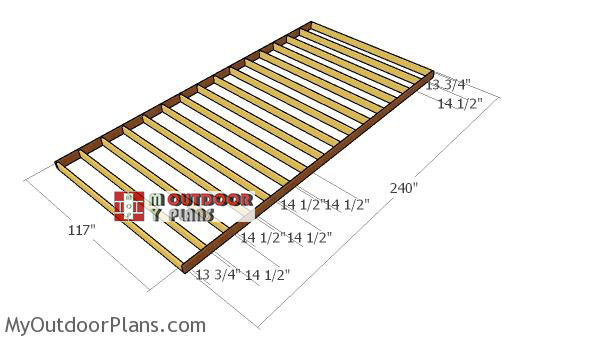 Building-the-10x20-shed-floor